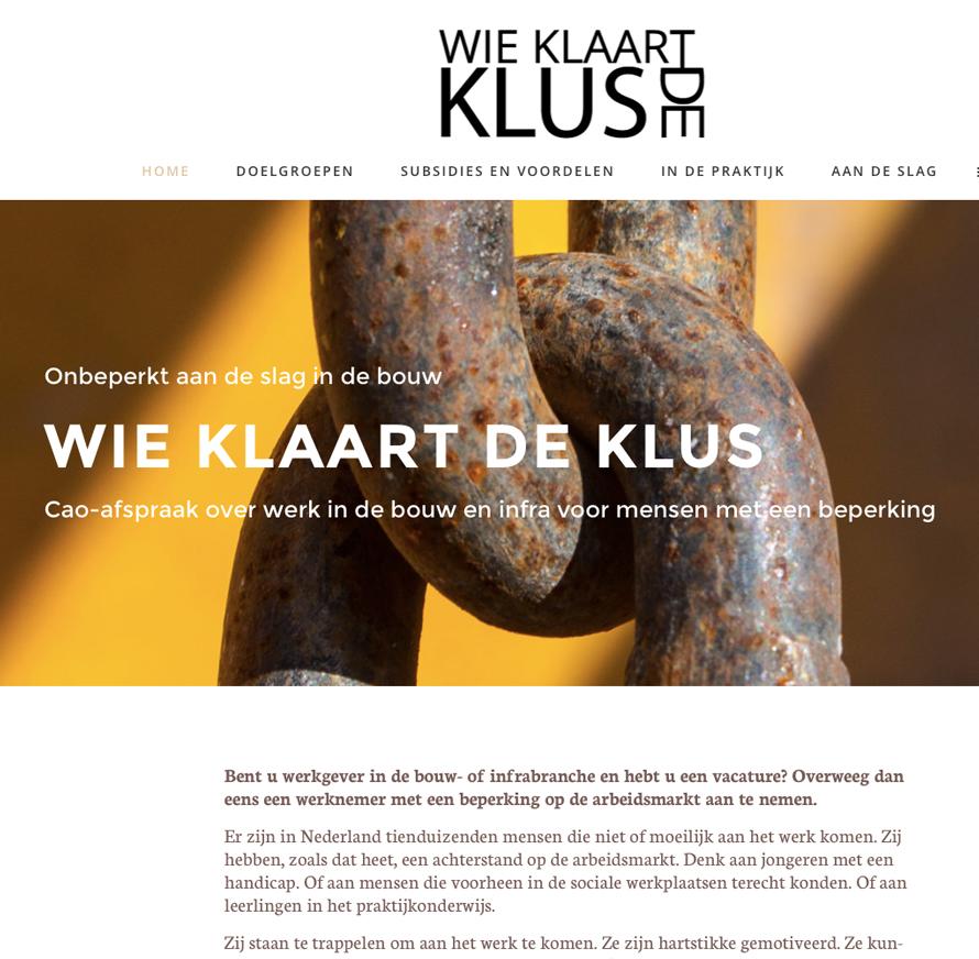 Wie klaart de Klus-website ontwikkeling Peter Voets