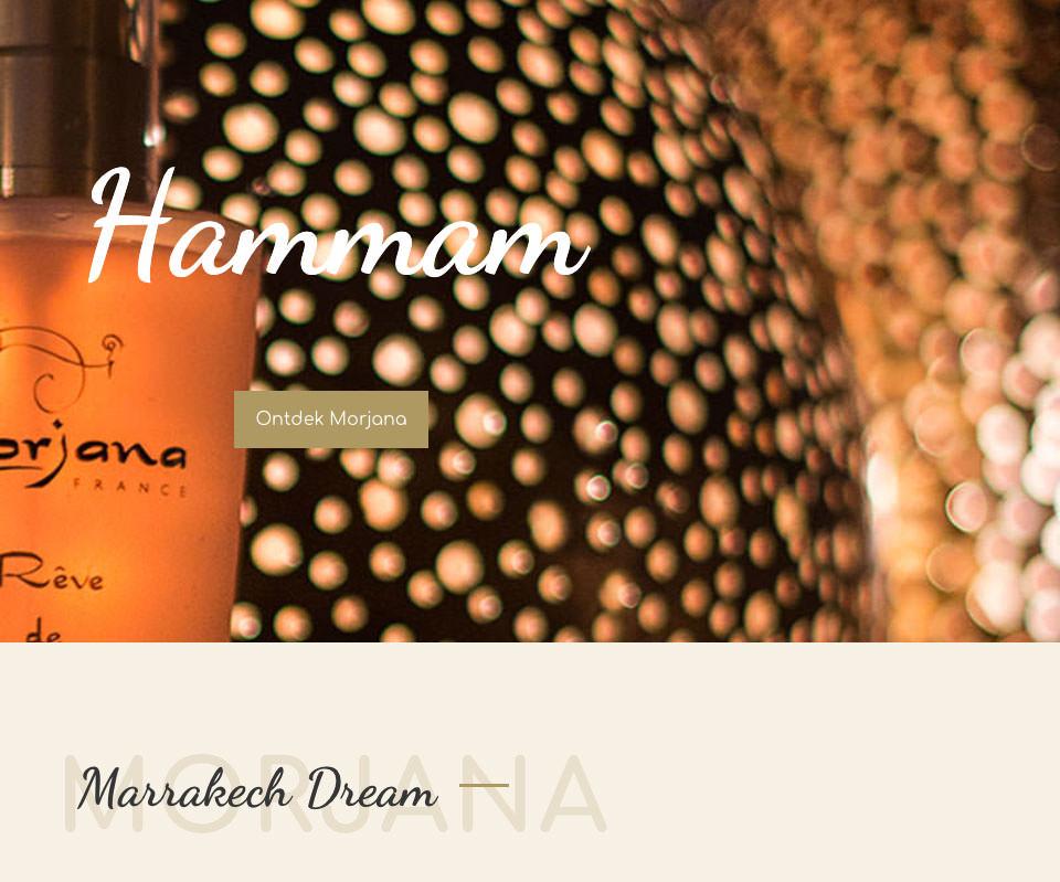 Morjana Cosmetics - websiteontwikkeling Peter Voets